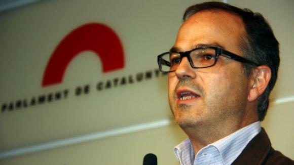 Jordi Turull (CiU): 'El referèndum es farà i crec que amb suport internacional'
