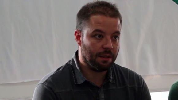 Jordi Esteva, entrenador del CP Calafell / Font: Calafell.tv