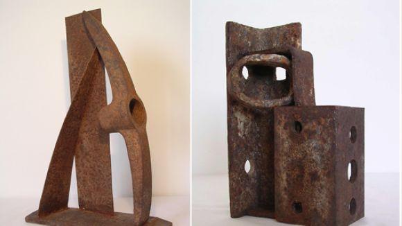 Fragment de l'exposició de Jordi París / Foto: Canals Galeria d'Art