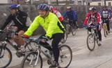 Una cinquantena de persones han participat a la pedalada de les Jornades de la Unió Ciclista