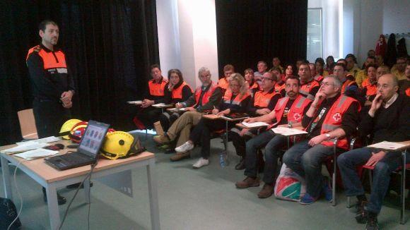 Sant Cugat prepara els seus voluntaris d'emergència