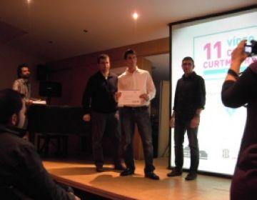 Un santcugatenc de 17 anys guanya un premi al Concurs de Curtmetratges d'Alella