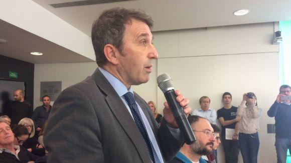 José Domingo, en el torn de l'audiència ciutadana