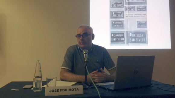 José Fernando Mota: 'Els deportats espanyols als camps de concentració nazis són els grans oblidats'