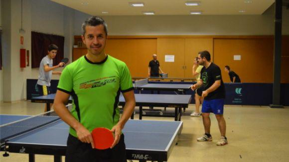 La UESC de tennis taula es juga el bitllet per a la fase d'ascens a Divisió d'Honor