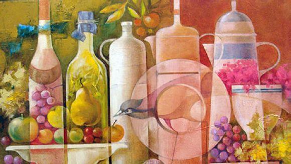 El surrealisme de Josep Baqués arriba a la Sala Rusiñol