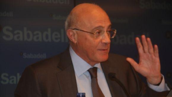 Oliu (Banc Sabadell) no tem un contagi de la crisi xipriota