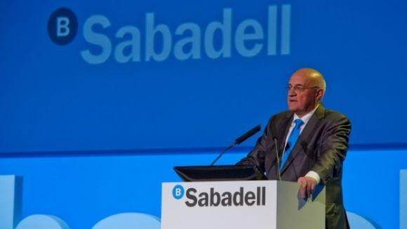 Banc Sabadell té la seu al nostre municipi / Foto: ACN