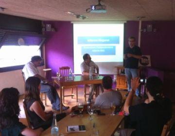 'Informe Diagonal' de Josep Gimeno analitza des de la ficció el sentiment independentista a Catalunya