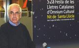 Josep Maria Espinàs a la Biblioteca de Mil·lenari