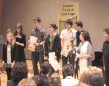 Bona nota en la segona edició del concurs de Joves Intèrprets
