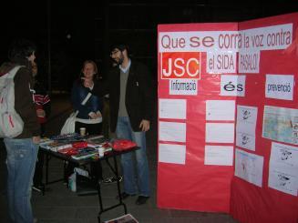 La JSC defensa la protecció com la millor arma per combatre la sida