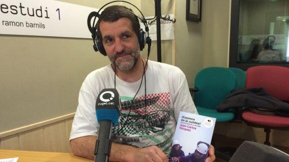 Juan Carlos Vázquez és l'autor de '¡Estamos en la cumbre! Discapacitados en la montaña'