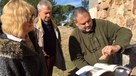 Noves descobertes arqueològiques al Castell de Canals de Valldoreix
