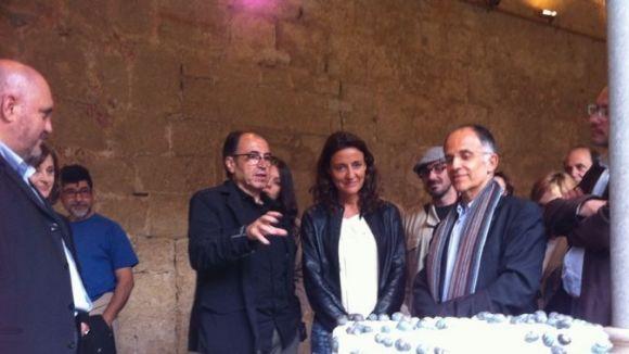 Salvador Juanpere homenatja Arnau Cadell amb l'exposició 'Sculptoris Forma'