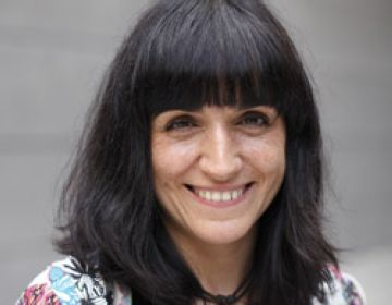 La cineasta Judith Colell, al 'Protagonistes' de Cugat.cat