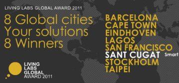 Sant Cugat, de nou a l'organització dels Premis Living Labs Global