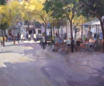 Julio García Iglesias guanyador del 17è Concurs de pintura ràpida
