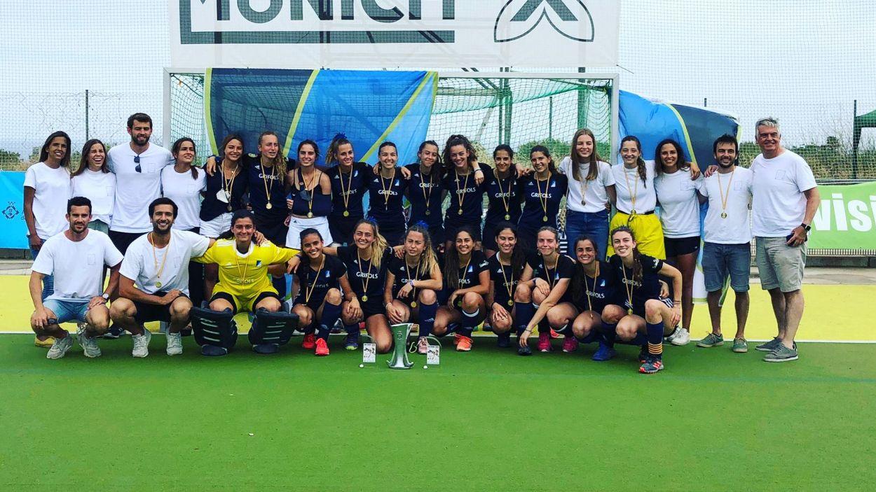 El segon equip femení del Junior competirà a Primera Divisió la temporada vinent / Foto: Cedida