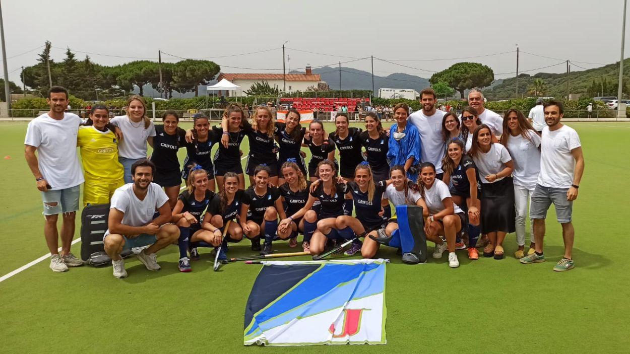 El segon equip femení del Junior jugarà a Primera Divisió la temporada vinent / Foto: Cedida