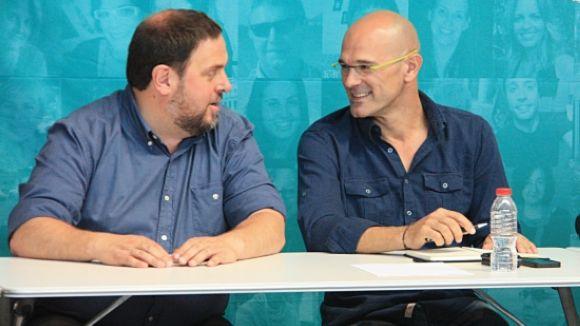 Oriol Junqueras proposa Raül Romeva com a conseller d'Afers Exteriors