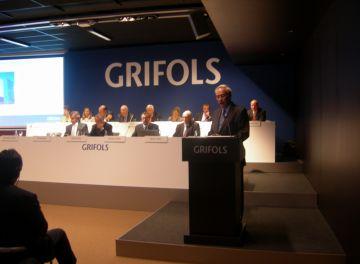 Els accionistes de Grifols ratifiquen per unanimitat els comptes de l'exercici 2011