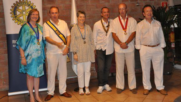 Joan Bruguera agafa les regnes del Rotary
