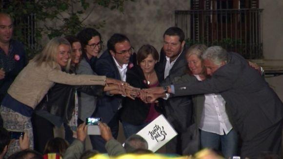 JxSí afronta la recta final de la campanya amb l'objectiu de convèncer els indecisos