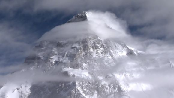 Cim del K2 / Foto: Fotograma de 'K2. Touching the Sky'
