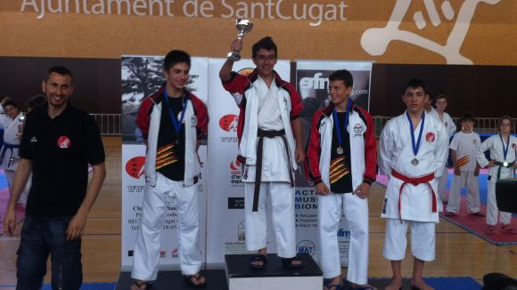 La Copa Miyagui segueix fent passos per fer-se un nom entre el karate català