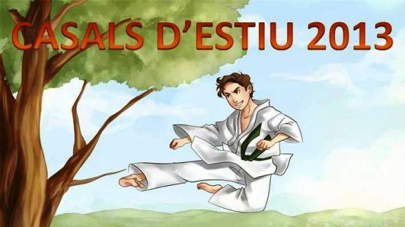 La 3a edició del casal d'estiu del Club Karate Sant Cugat ofereix un total de cinc setmanes / Foto: Club Karate Sant Cugat