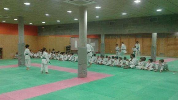 El Club Karate torna a la Sala d'Arta Marcials