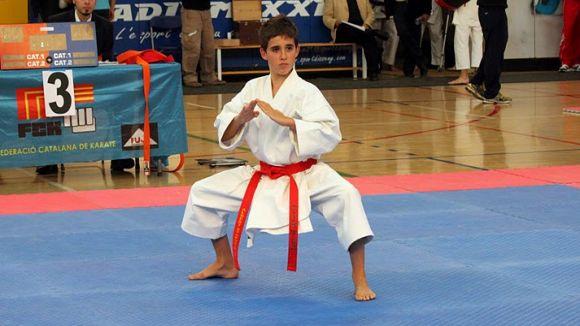 El Karate Sant Cugat vol pujar al podi al Català