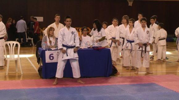 El Nokachi s'imposa en quatre categories del torneig del Karate Sant Cugat