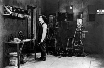 Homenatge al cinema de Buster Keaton en un acte a l'Escola Victòria dels Àngels