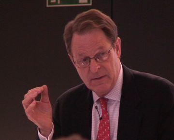 Kenneth Morse en una conferència l'any passat a Sant Cugat