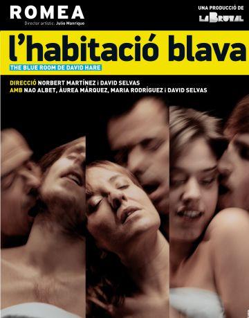 El Romea estrena 'L'habitació blava' amb la col·laboració del Teatre-Auditori