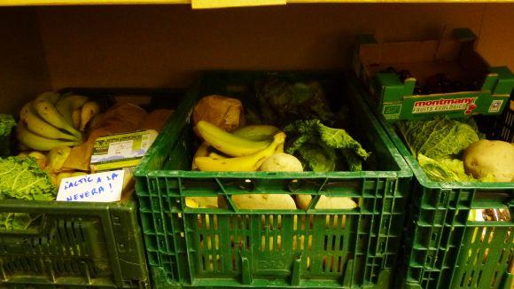 Imatge dels aliments que es venen a la cooperativa de consum agroecològic La Civada / Foto: Web La Civada
