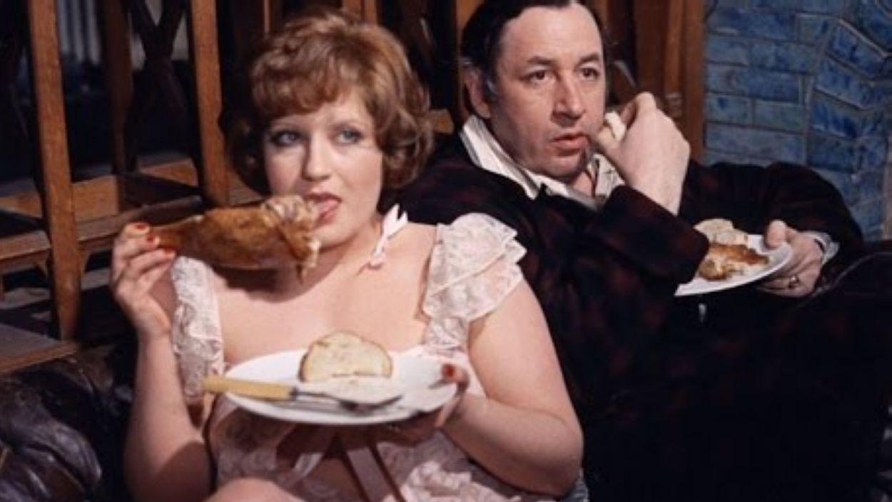 Instant de la pel·lícula 'La grande bouffe' / Font: Youtube