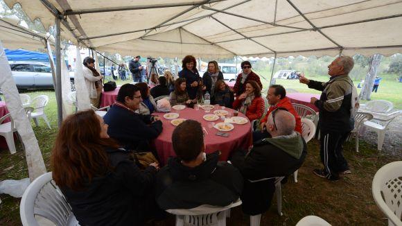 La comitiva santcugatenca tanca el seu viatge a La Haba a la 'Jira'