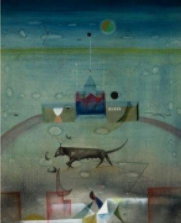 'La loba', de Cuixart, plat fort de la nova exposició de la galeria Canals