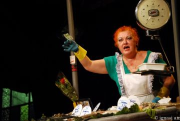 Fila Zero porta 'La peixatera' al Teatre la Unió