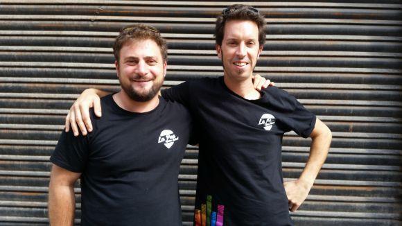 Pau Sans i Jordi Portales de La Pua oficina musical