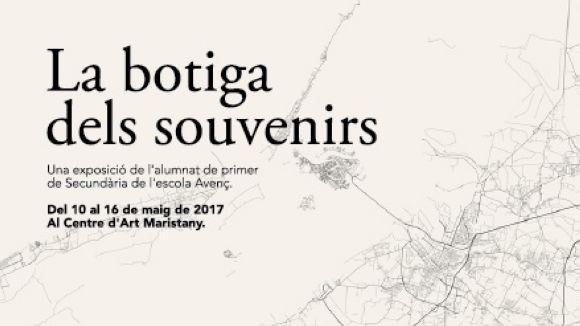Alumnes de l'escola Avenç exposen al Centre d'Art Maristany una mostra sobre la ciutat