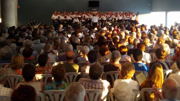 La Lira i l'Orquestra Simfònica actuen juntes per primera vegada