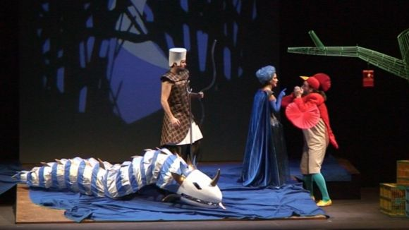 L'adaptació infantil 'La flauta màgica' de Mozart arriba avui al Teatre-Auditori