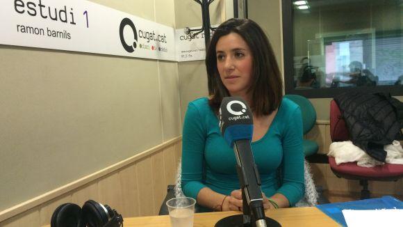 Lara Serna forma part del gabinet psicològic de Panta Rei i és col·laboradora del SAF