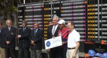 Pablo Larrazábal es proclama campió del Peugeot Alps de Barcelona