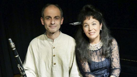 Oriol Romaní i Elena Lasco interpretaran temes del romanticisme / Font: MEAM