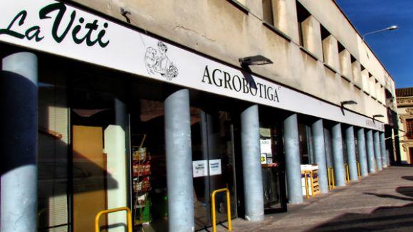 La Viti Agrobotiga es trasllada a causa de la vianantització dels carrers de Balmes i Sant Medir